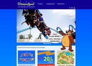 Web Designer Freelance, Siti Web Vasto, Web Design - Sito web Parco Giochi Dreamland