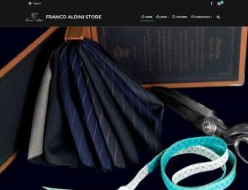 Sito E-commerce Franco Aldini