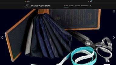 Web Designer Freelance, Siti Web Vasto, Web Design - Sito E-commerce Franco Aldini