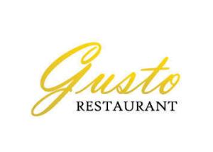 Web Designer Freelance, Siti Web Vasto, Web Design - Gusto Restaurant Logo Design