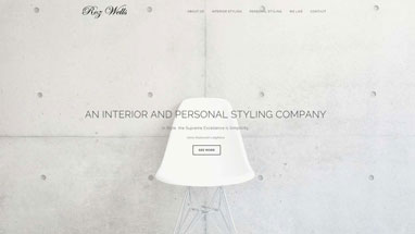 Web Designer Freelance, Siti Web Vasto, Web Design - Sito web Roz Wells